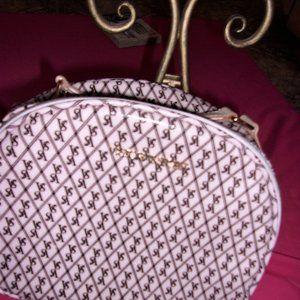 """Victoria's Secret make up bag tote 10 1/2"""" holder"""